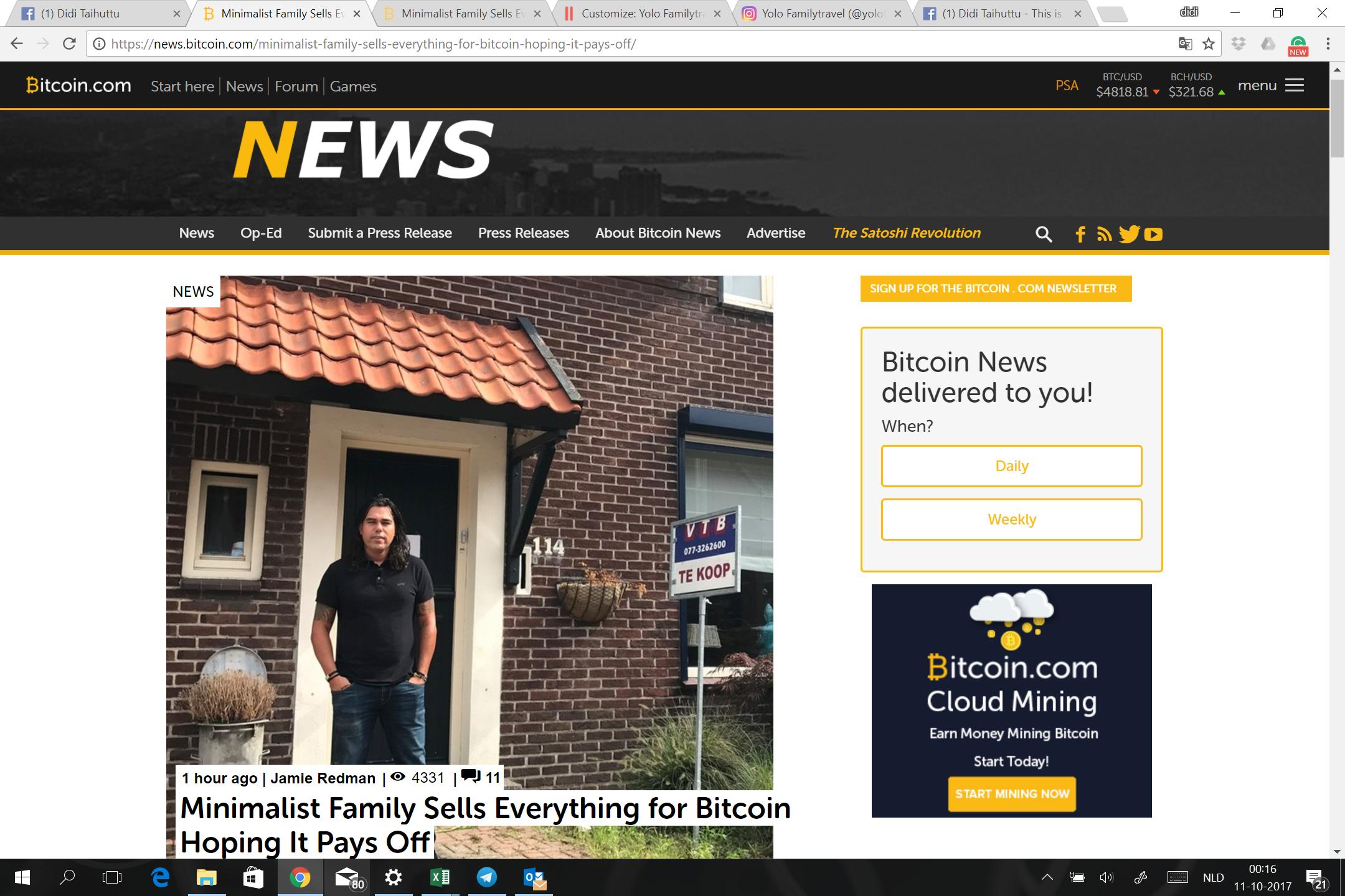 Minimalism and Bitcoin Update 2