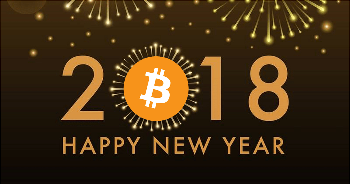 We wish yo a Happy and healthy  2018 with much love and crypto fun.