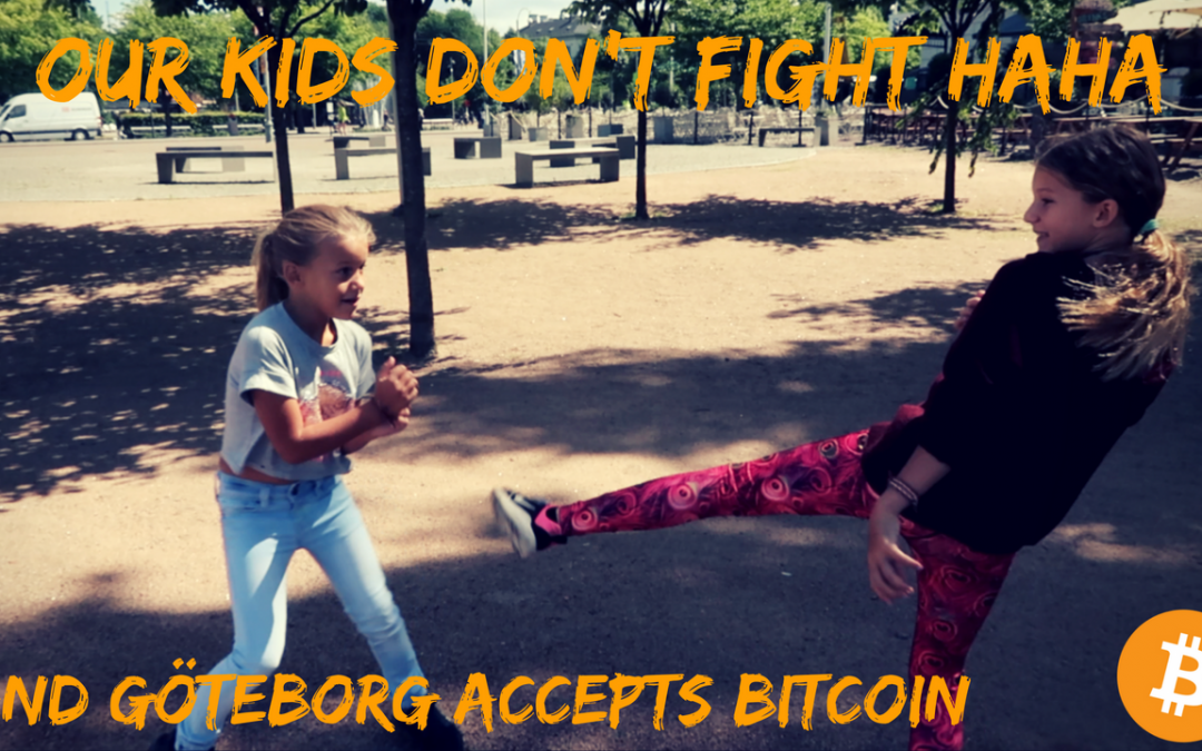 Yeahhhh Sweden accepts Bitcoin!