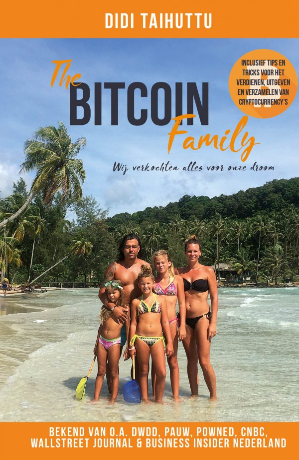 Boek Didi Taihuttu en The Bitcoin Family