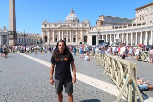 Bitcoin Jesus Didi Taihuttu visits the pope