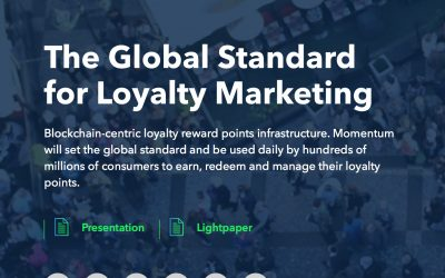 Momentum Protocol; revolutionising the loyalty world.