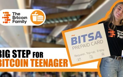 Yeah, the kids can use a BTC visa card now as well!!