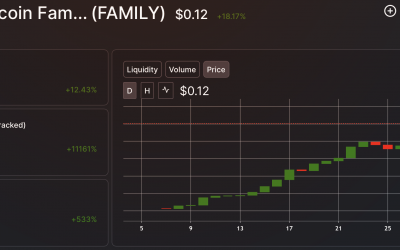 THE BITCOIN $FAMILY TOKEN LIQUIDITY GROWING FAST!!